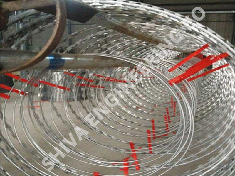 Electrified Concertina Coil