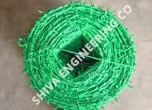 pvc coated barbed wire manufacturer
