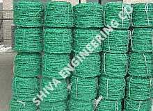 Anti Rust Pvc coated barbed wire