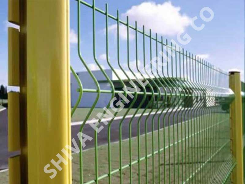 Pvc Coated Welded Angular Mesh supplier