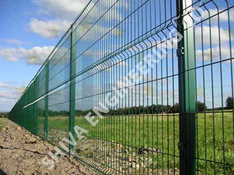 Pvc Coated Welded Angular Mesh
