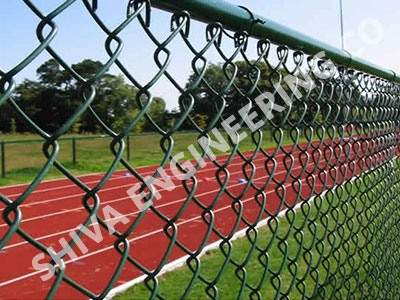 PVC COATED CHAINLINK FENCING